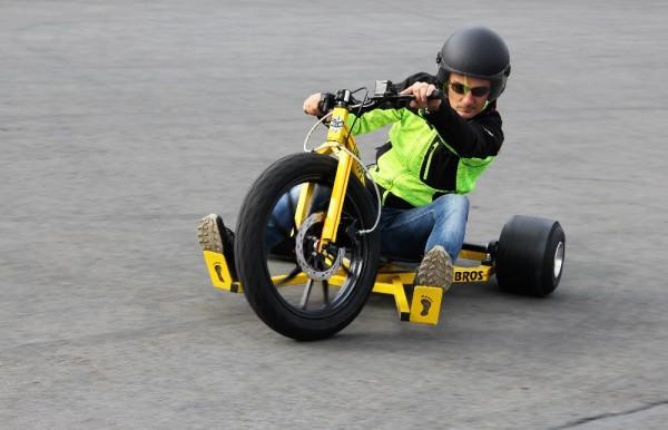 Driftovací motorová tříkolka DRIFT TRIKE BIKE